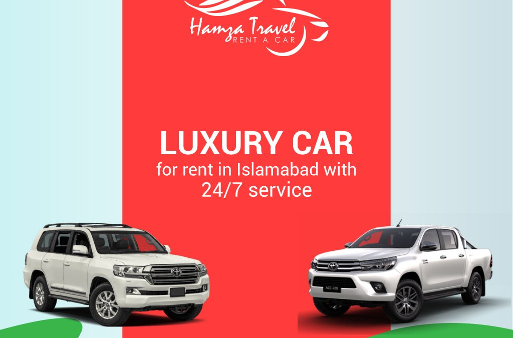 Luxury car for rent in Islamabad with 24/7 service