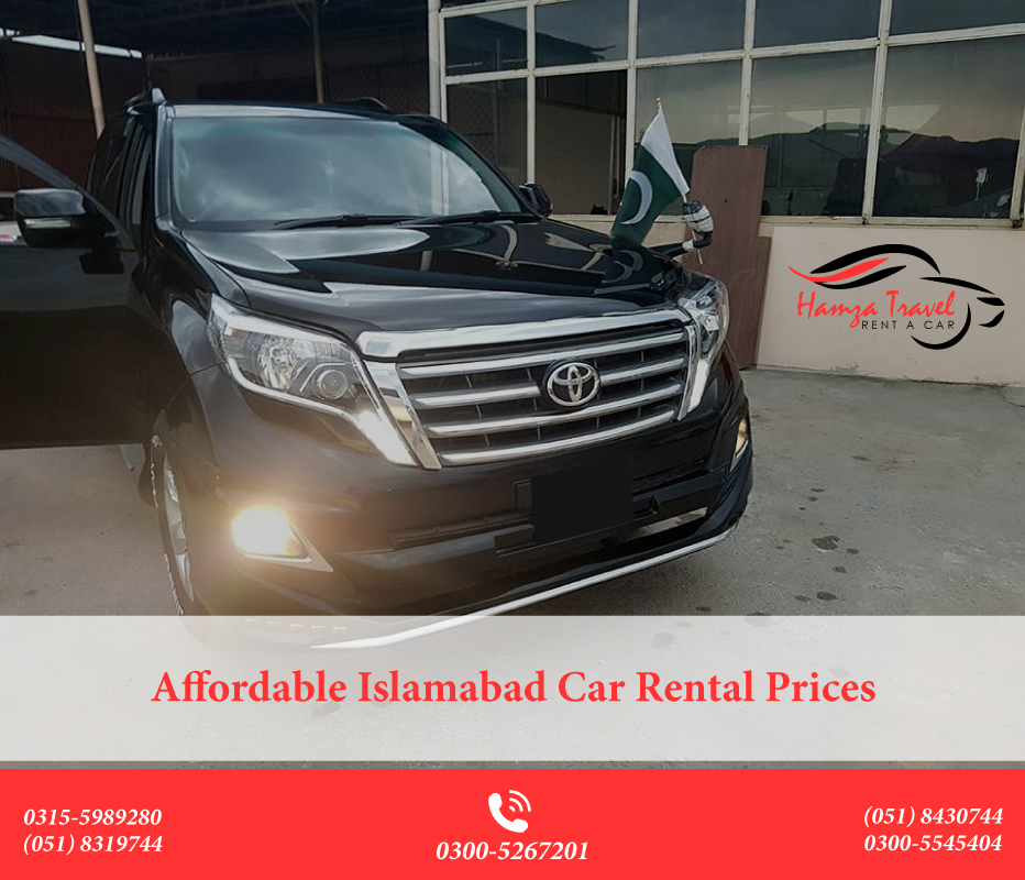 Affordable Islamabad Car Rental Prices