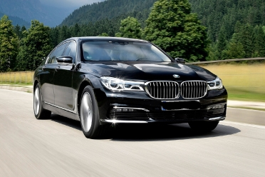 BMW 7 Series for rent in islamabad