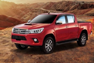 Toyota Revo for rent in islamabad