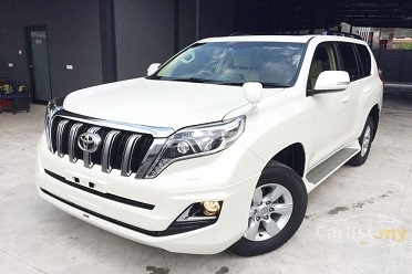 Rent Toyota Prado 2018 with driver