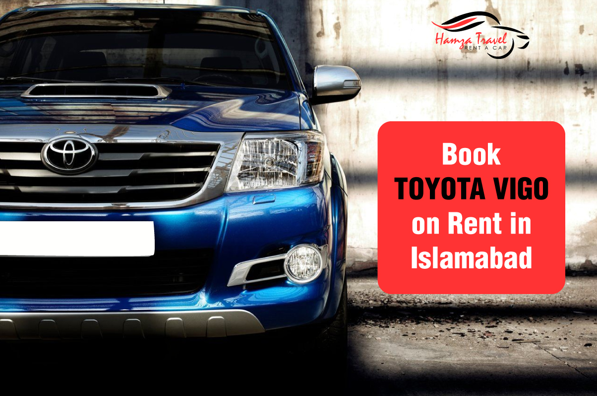 Book Toyota Vigo on Rent in Islamabad