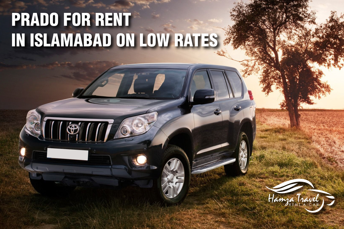Prado for rent in Islamabad on low rates