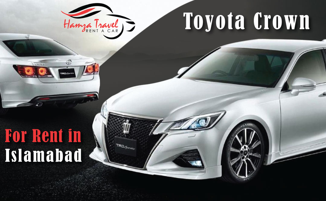 Toyota Crown for Rent in Islamabad