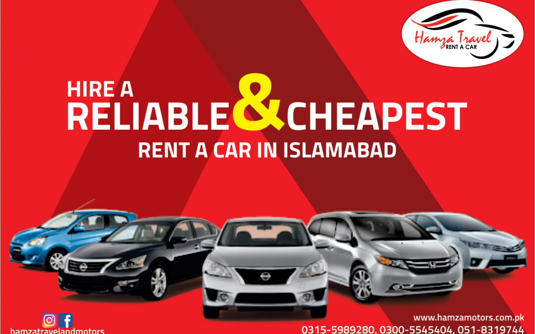 Car Rental services in Islamabad